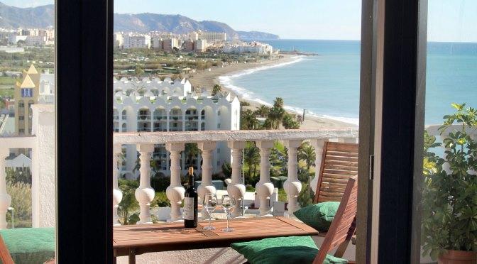 View from hotelroom Nerja